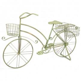 Jardinière vélo en fer - 140 cm