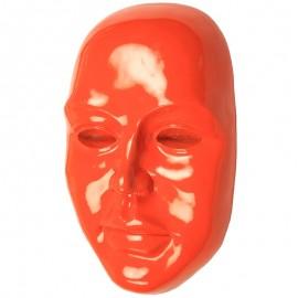 Statue visage de femme murale 3D - 41 cm