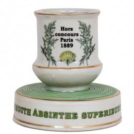 PYROGÈNE Riboult en porcelaine - 9.5 cm